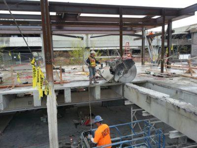Public Works Concrete Cutting   Cut-All Concrete Sawing & Drilling